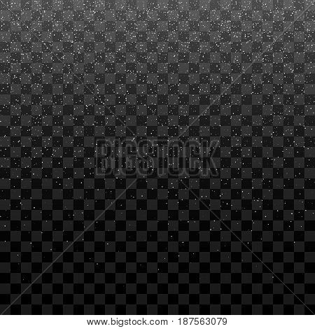 Snowfall vector Texture for Your Christmas Design