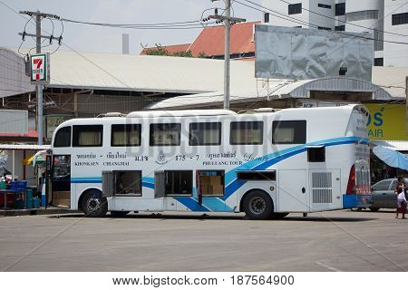 Phuluang Tour Company Bus No.175-7 Route Khonkaen And Chiangmai