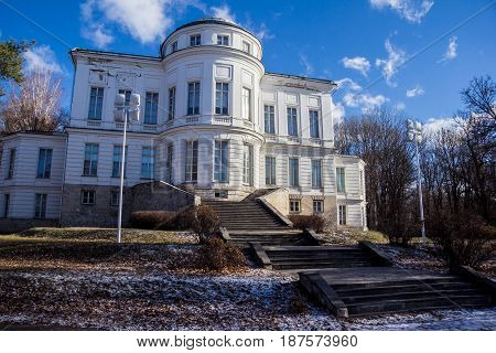 Bogoroditsky Palace, manor estate of earl Bobrinsky, Tula region, Russua