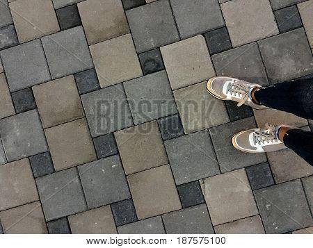 , woman feet walking, woman shoes, women,