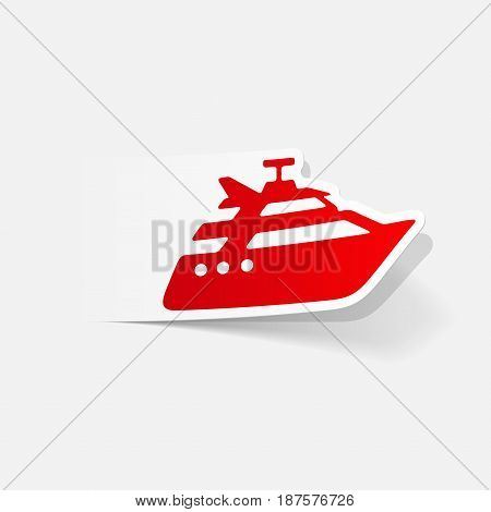 It is a realistic design element: yacht