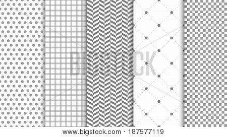 Modern seamless pattern background. Abstract set for elegant design fashion universal background. Vector