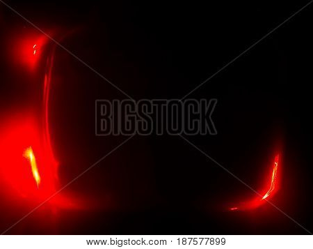 Red abstract empty tv screen background hd