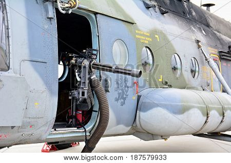 Exhibition Of Mil Mi-171S Helicopter