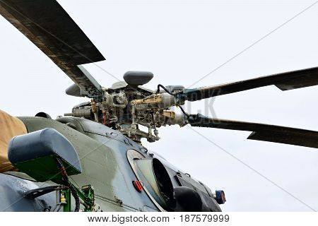 Rotor Of The Mil Mi-171S Helicopter