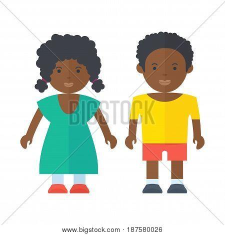 Black People Children