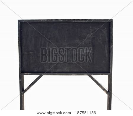 black board isolated on a white background