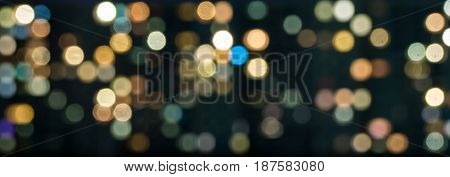 Texture Of Colored Lights