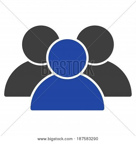 User Group flat vector pictogram. An isolated illustration on a white background.