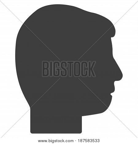 User Profile flat vector illustration. An isolated illustration on a white background.