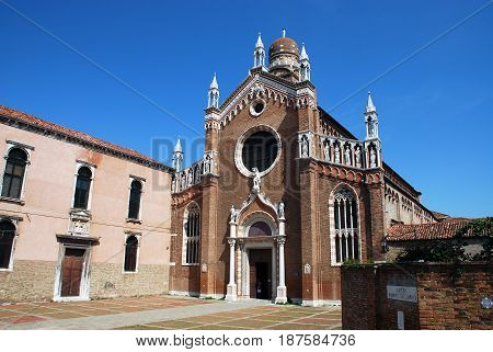 Church of Madonna Dell'Orto in Cannaregio Venice