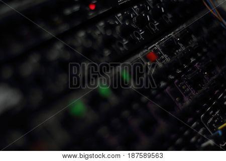 Recording Music Studio Rack
