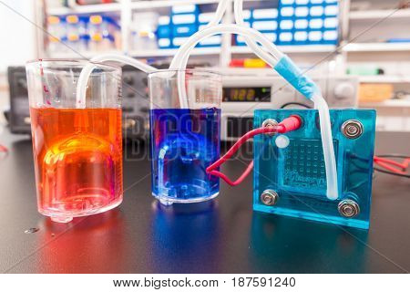 fuel cell research in lab