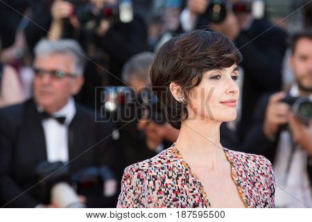 Paz Vega at the 120 Beats Per Minute (120 Battements Par Minute)  premiere for at the 70th Festival de Cannes.May 20, 2017 Cannes, France