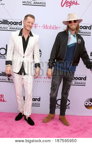 LAS VEGAS - MAY 21:  Florida Georgia Line, Tyler Hubbard, Brian Kelley at the 2017 Billboard Music Awards - Arrivals at the T-Mobile Arena on May 21, 2017 in Las Vegas, NV