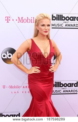 LAS VEGAS - MAY 21:  Savvy Shields, Miss America 2017 at the 2017 Billboard Music Awards - Arrivals at the T-Mobile Arena on May 21, 2017 in Las Vegas, NV