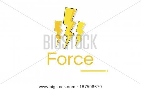Lighting Voltage Power Energy Saving Graphic