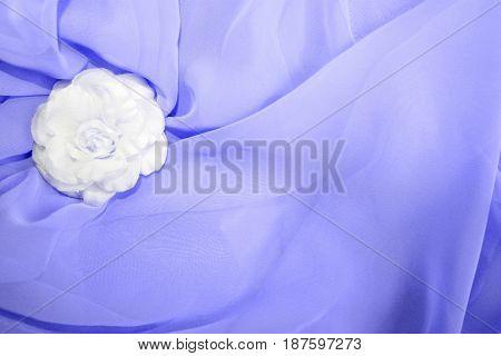 Soft pastel blue silk satin textile texture bride wedding background