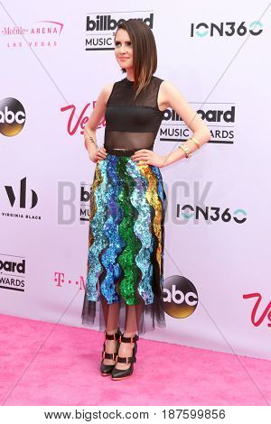 LAS VEGAS - MAY 21:  Laura Marano at the 2017 Billboard Music Awards - Arrivals at the T-Mobile Arena on May 21, 2017 in Las Vegas, NV