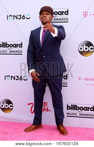 LAS VEGAS - MAY 21:  Sway Calloway at the 2017 Billboard Music Awards - Arrivals at the T-Mobile Arena on May 21, 2017 in Las Vegas, NV