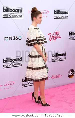 LAS VEGAS - MAY 21:  Maia Mitchell  at the 2017 Billboard Music Awards - Arrivals at the T-Mobile Arena on May 21, 2017 in Las Vegas, NV