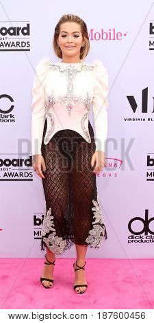 LAS VEGAS - MAY 21:  Rita Ora at the 2017 Billboard Music Awards - Arrivals at the T-Mobile Arena on May 21, 2017 in Las Vegas, NV