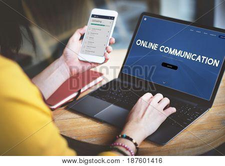 Online Communication Internet Connection Social
