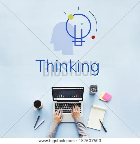 Thinking imagination creativity analyze smart