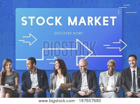 Business Strategy Management Stock Market Illustration