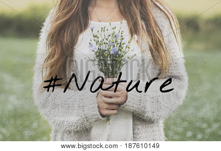 Nature Flower Bloom Blossom Phrase Words