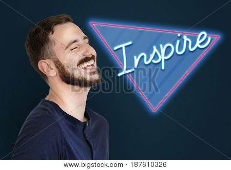 Inspire Goal Aspiration Motivation Word