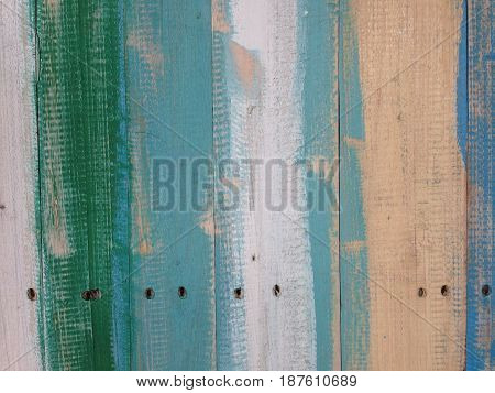 Grunge texture background. Old paint on wood.