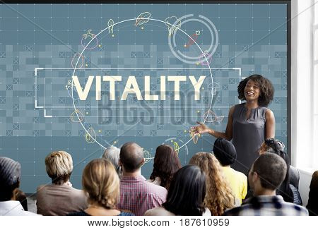 Diverse people Business Vitality