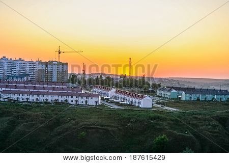 Residential Area In The City Of Belgorod
