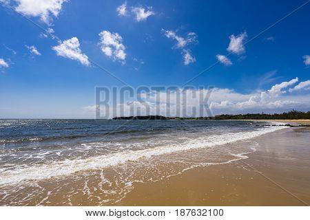 Todomari Beach (Tsukihama Beach) of Iriomote Island in Okinawa, Japan.