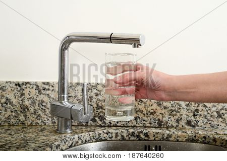 Take Water In Glass