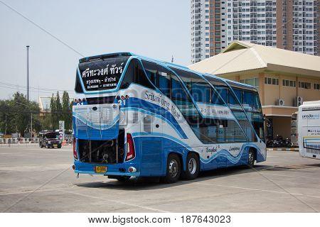 Srithawong Tour Company Bus Route Bangkok And Lampang
