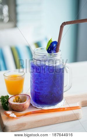Blue Pea Drink