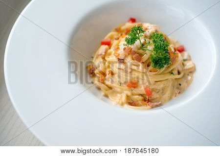 Carbonara Bacon And Ham