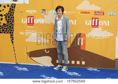 Giffoni Valle Piana Sa Italy - July 22 2014 : Robert Dancs at Giffoni Film Festival 2014 - on July 22 2014 in Giffoni Valle Piana Italy