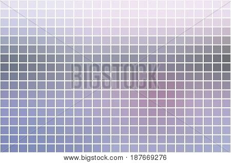 Pink Grey Square Mosaic Background Over White