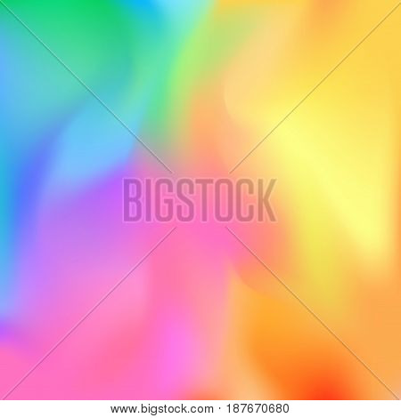 Bright colorful halftone color composition layout. Multicolor abstract vivid card background. Vector illustration