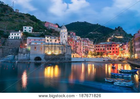 Vernazza is one of the five communes that make up the Cinque TErre