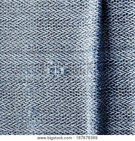 Old Jeans Background Texture,vintage Torn.
