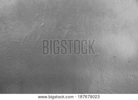 Background Pattern Horizontal Texture of Silver Metal Plate with Copy Space for Text Decorated.
