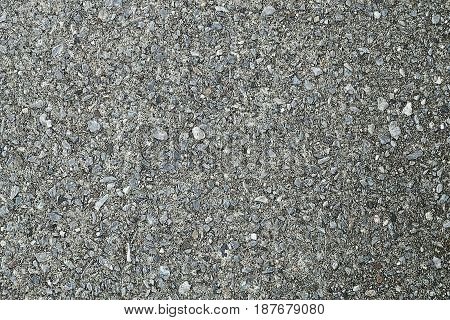 Background Pattern Grey Concrete Floor Texture or Cement Road with Copy Space for Text Decorated.