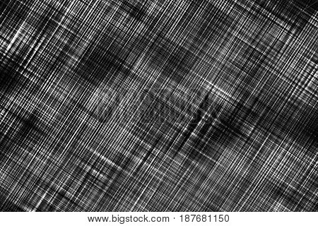 Dark striped and checkered texture pattern as abstract background.Digitally generated image