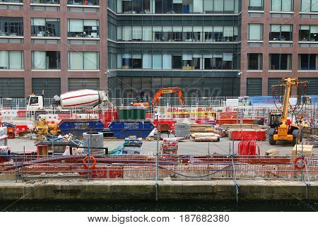 London Construction Site