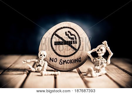 No smoking sign World No Tobacco Day 31 May