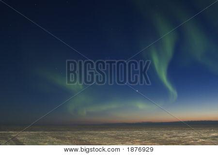 Chaotic Aurora Borealis